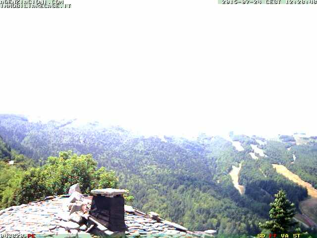 WebCam passo Abetone Le Piramidi panoramica Val Buia By Cioni