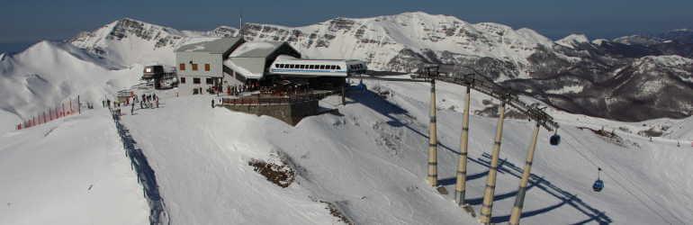 Skilift in Abetone-und Langlauf