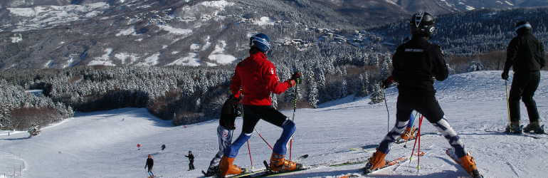 Ski teachers in Abetone